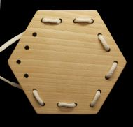 Wooden Shapes for Threading